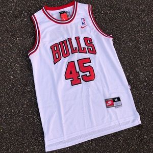 NWT Team Nike Michael Jordan Embroidered Jersey